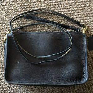 Vintage Coach Black Shoulder bag